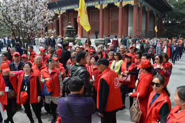 北京中润国旅导游部经理刘波(本校2004届学员)