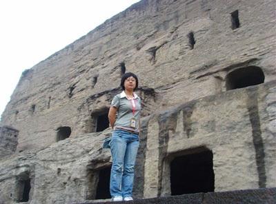 北京好时旅游社导游谢明(本校2007届学员)