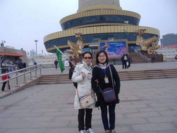 北京青年旅行社导游张丹(本校2008届学员)