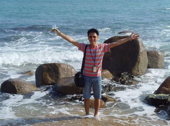 北京国旅导游曹磊(本校2009届学员)