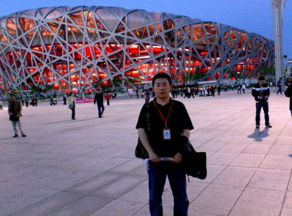 中国铁道国旅导游房涛(本校2009届学员)