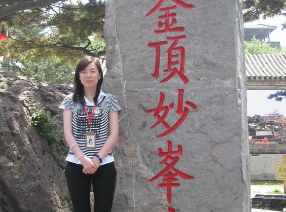 北京中广国旅导游郭长凤(本校2009届学员)