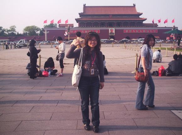 北京中通国旅导游彭薇(本校2009届学员)