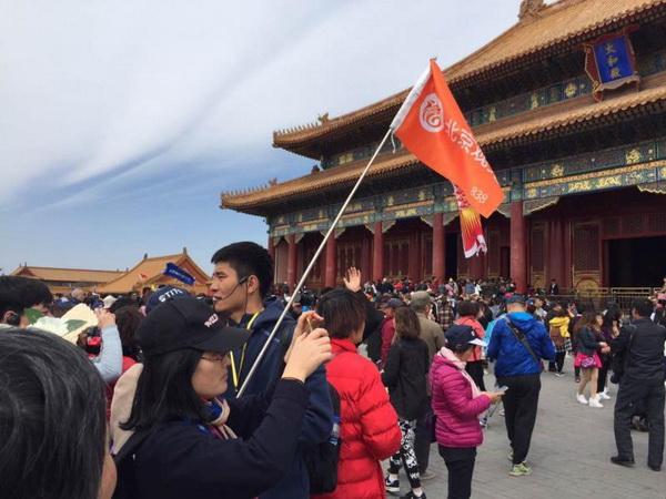 北京观光国旅导游肖玄博(本校14届学员,17年取得中级导游