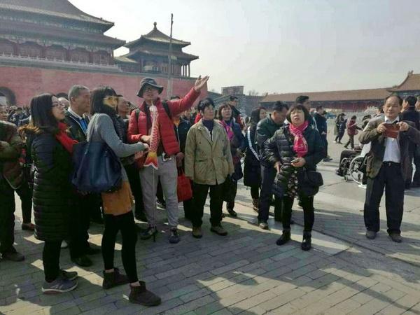 北京神州国旅导游石亚东(本校2014届学员)