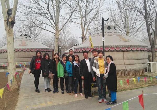 中国太和旅行社导游田均(本校2015届学员)