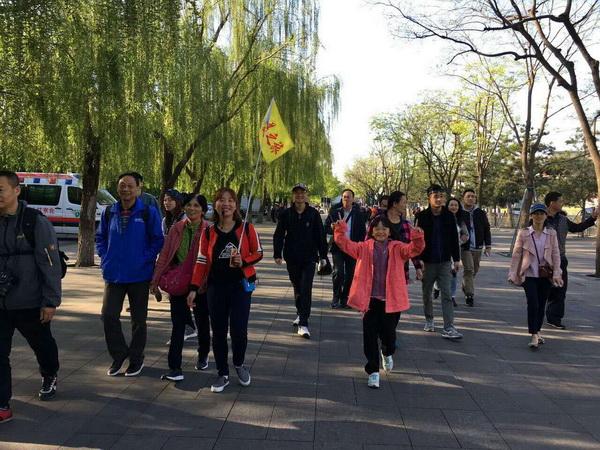 北京京美之旅导游丛明溪(本校2015届学员,当年考试最高分