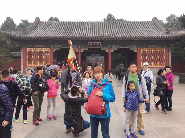北京丽景国际旅行社导游王娟(本校2015届学员)