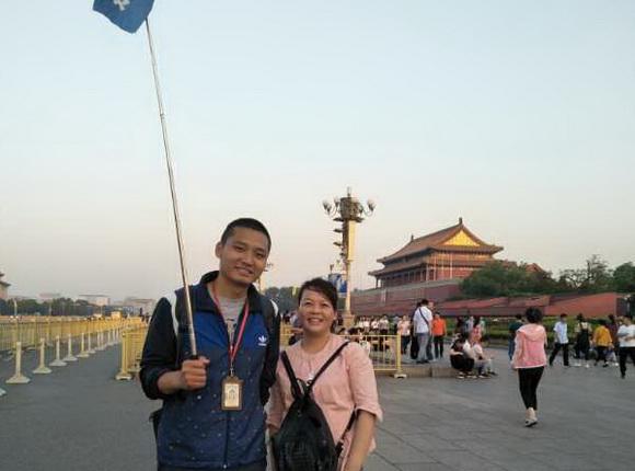 观光国旅导游陈钦伟(本校2015届学员)