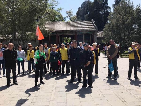 北京观光国旅导游莫晓冰(本校2016届学员)