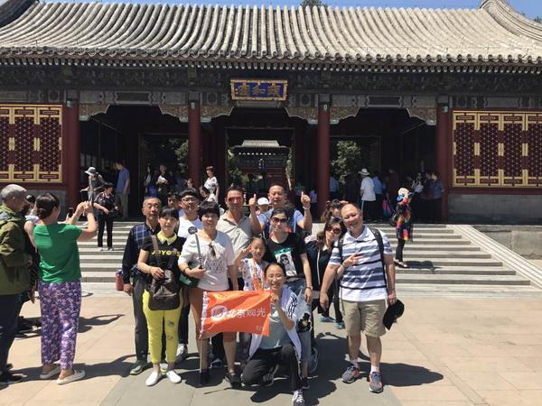 北京观光国旅导游陈泉洪(本校2016届学员)
