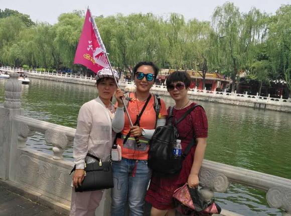 北京金裕国旅导游杨娜(本校2016届学员)