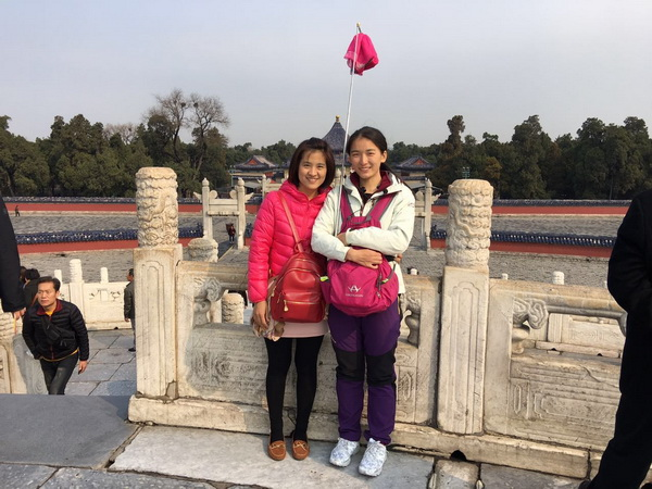北京世纪中润国旅导游张靖雨(本校2016届学员)