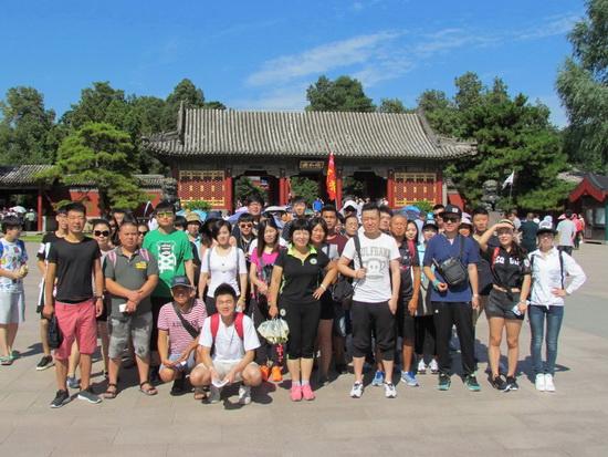 2016年7月26日暑假班颐和园景点实习