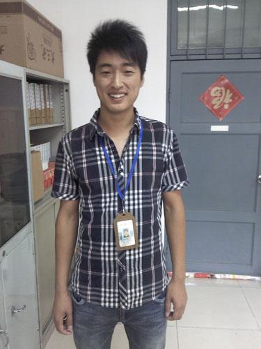 2013年取证学员英文导游——李云峰