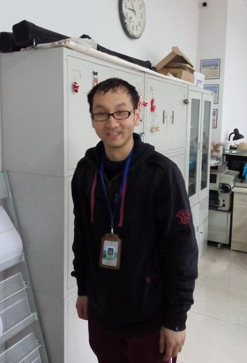 2015年取证学员—王宇(普通话导游)