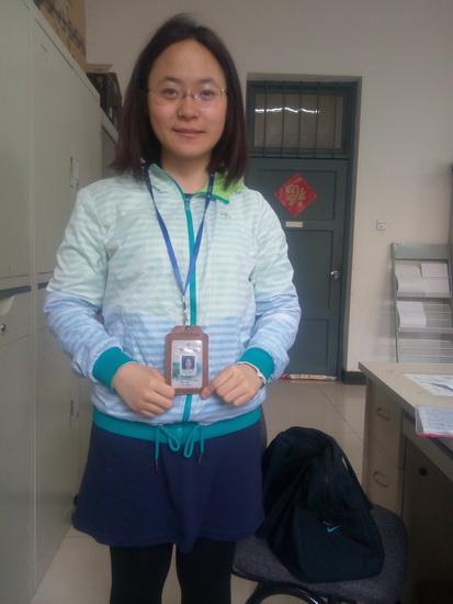 2015年取证学员—周佳(普通话导游)