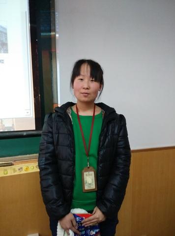 2015年取证学员—席临娟(普通话导游)