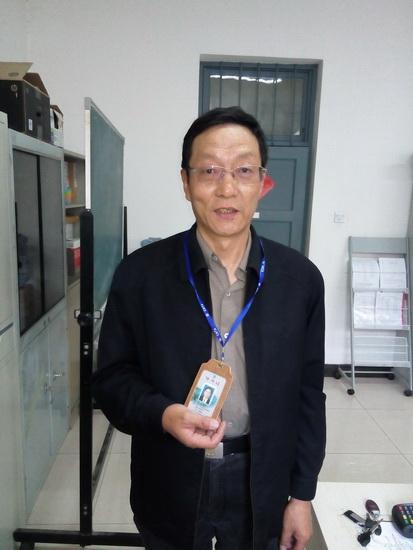 2015年取证学员—傅连喜(普通话导游)(取证年龄59岁)