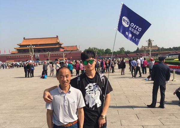 北京海外国旅导游蔡宁菲(本校2016届学员)