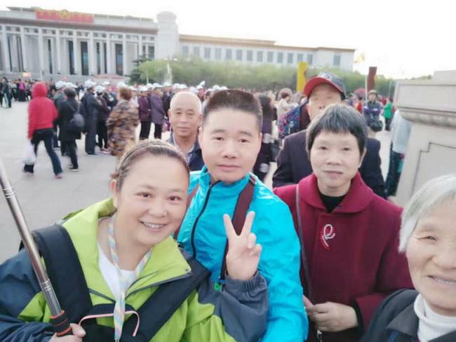 北京京蒙假期导游杨敏(本校2015届学员)